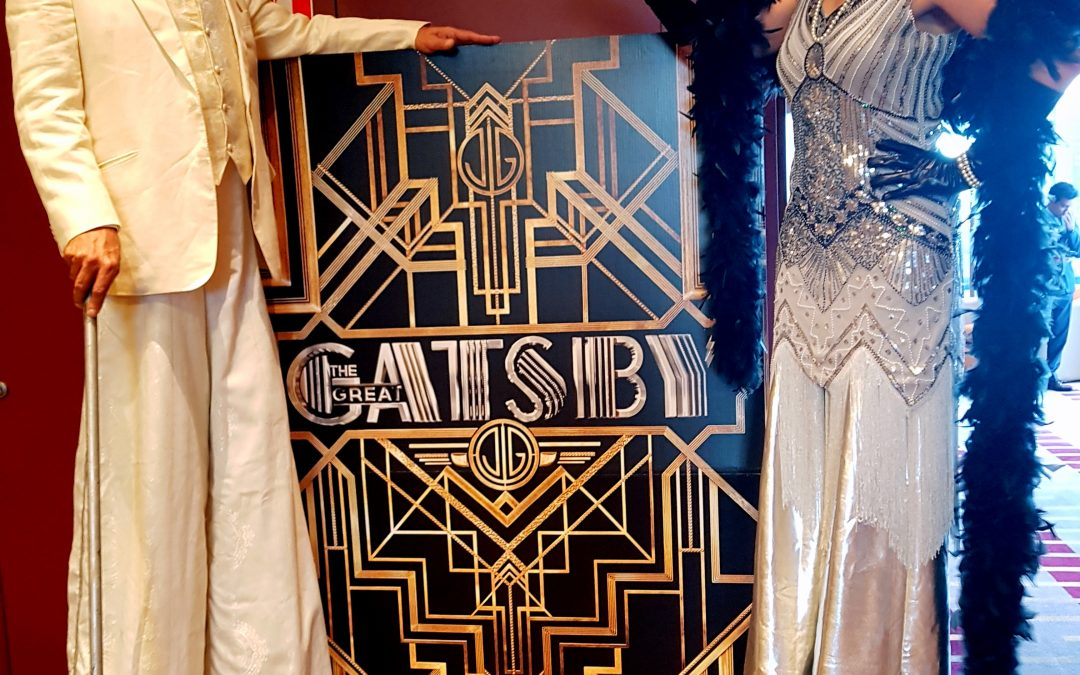 Great Gatsby theme 1920's inspired
